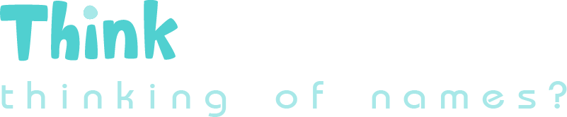 Think Baby Names - logo